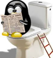 Natural seo - contains tux reading news